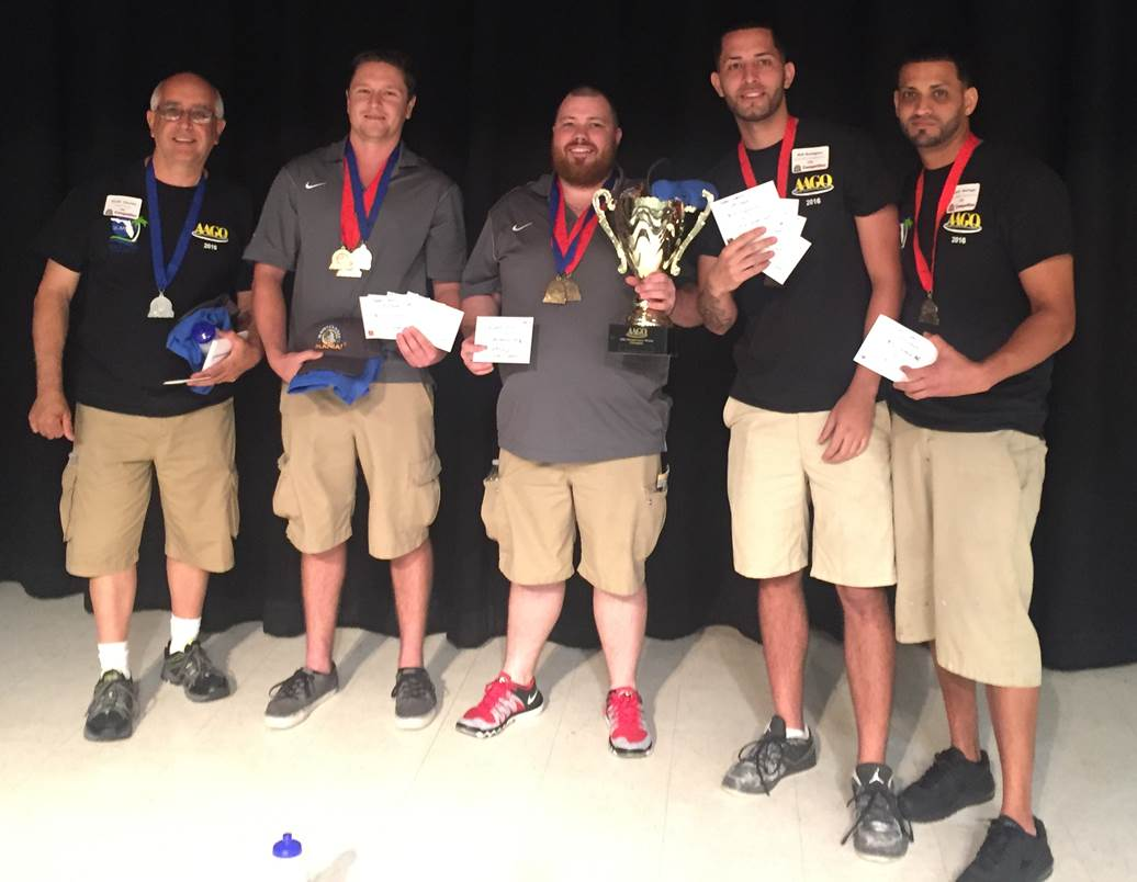 2016 AAGO Maintenance Mania Winners